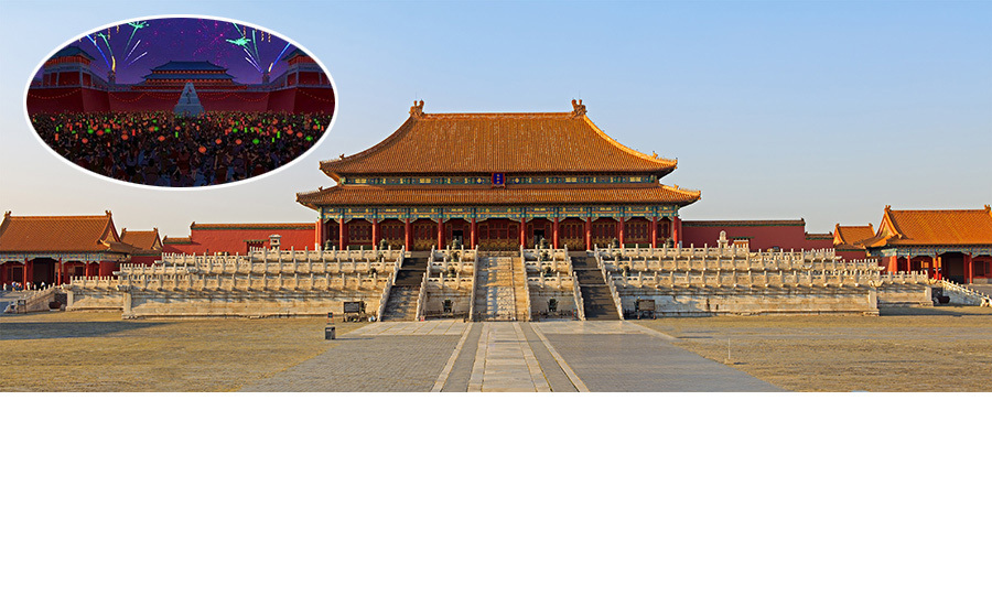 <strong>The Emperor's home in <em>Mulan</em> was inspired by the Forbidden City in Beijing, China.