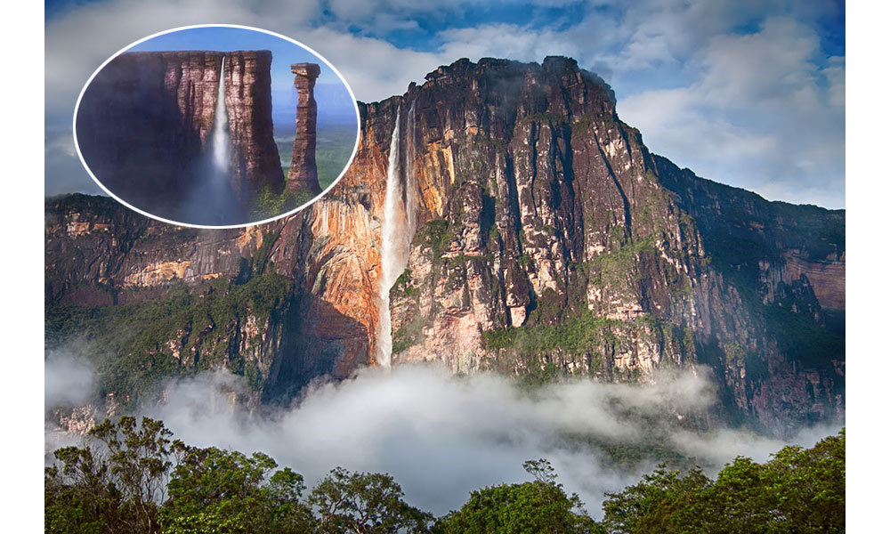 <strong>Paradise Falls in <em>Up</em> was inspired by Angel Falls (also known as Kerepakupai Vena in the indigenous Pemon language) in Venezuela.