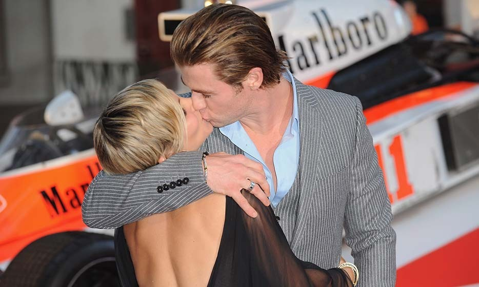 Chris Hemsworth and wife Elsa Pataky.