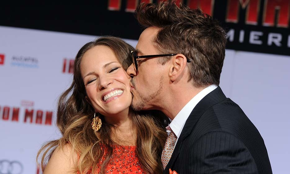 Robert Downey Jr. and wife Susan.