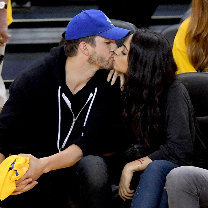 Mila Kunis and Ashton Kutcher.