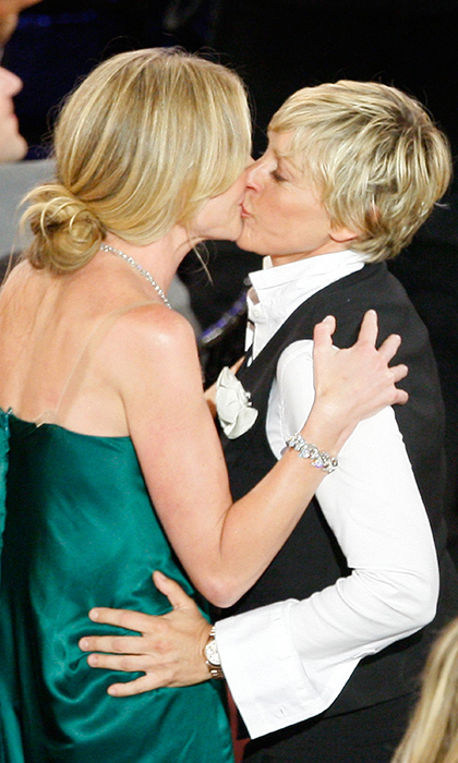 Ellen DeGeneres and Portia de Rossi.