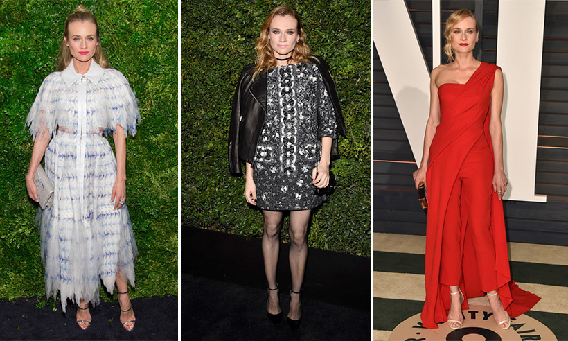 Leave it to one of Hollywood's most fashionable leading ladies to teach us a thing or two about mastering red-carpet style. German actress Diane Kruger consistently proves that she's the ultimate style chameleon, whether it's mixing prints at premieres or giving us serious festival fashion #goals. 