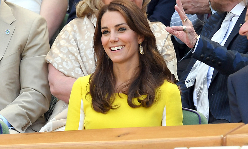 The Duchess of Cambridge stole the show on Thursday (Jul. 7) in a vibrant yellow Roksanda Ilincic dress. 