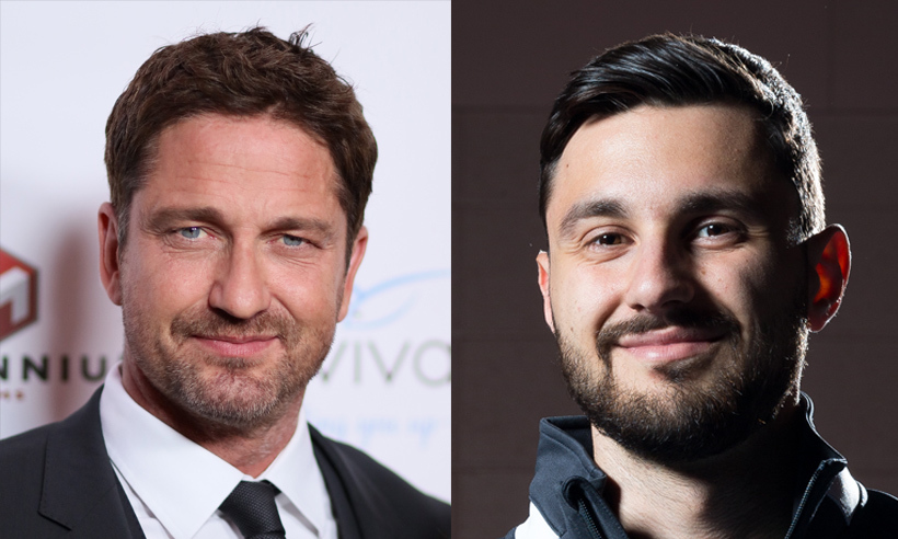 Being a fencer means that the face of Joseph Polossifakis is frequently hidden behind a mask, but when this Olympic athlete takes a sporting break you can't help but notice how much he resembles Scottish actor Gerard Butler. Joseph's appearance at Rio is the first time the Montreal native has qualified for the Olympics, but his skills aren't up for debate – he took home two silver medals when he competed in Toronto's Pan Am Games last year.