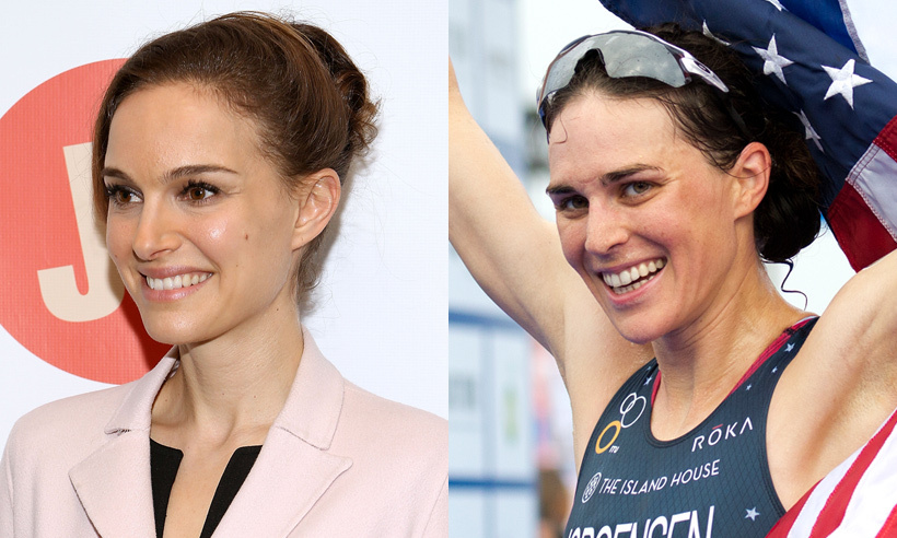 Natalie Portman has proven herself to be a very versatile actress and her doppelgänger Gwen Jorgensen has shown that she's equally talented when it comes to sports. The American triathlete is an admirable swimmer, runner and biker, which earned her a place at this year's Olympics. In addition to her enviable athleticism and Hollywood looks, Gwen has a master's degree in accounting. Talk about multitalented!