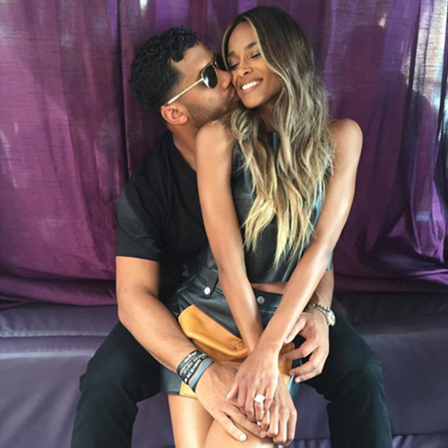 Ciara and Russell Wilson danced together in their first photo as newlyweds. 