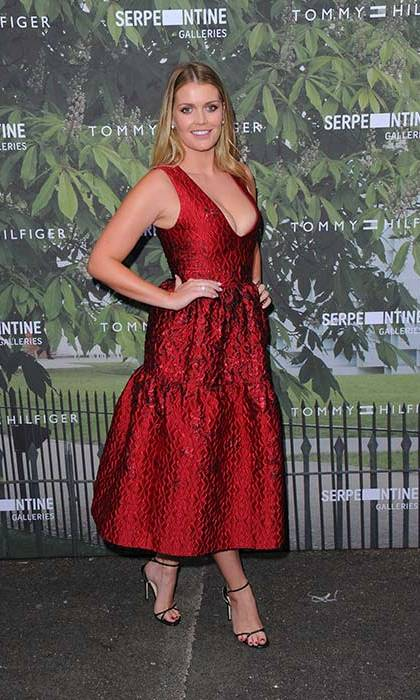 Lady Kitty Spencer also attended the glamorous event.