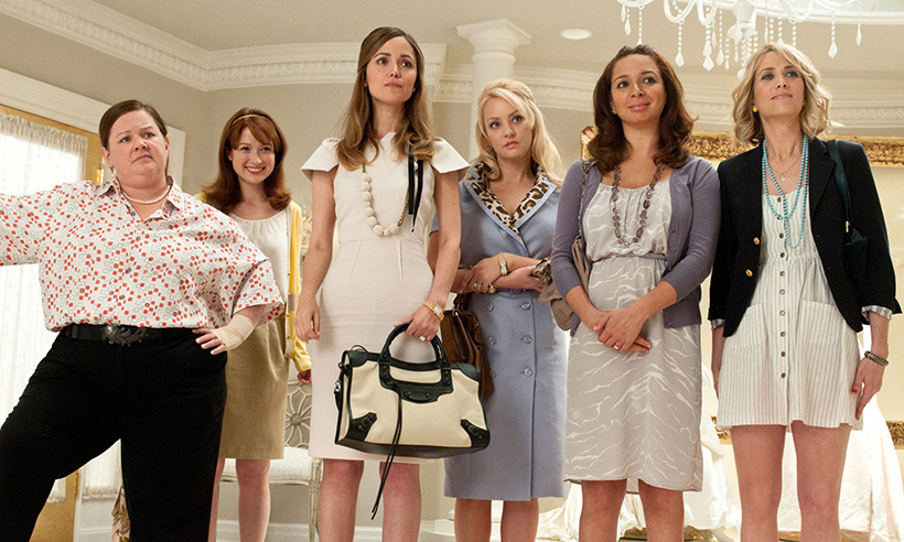 <h3>Bridesmaids</h3>
