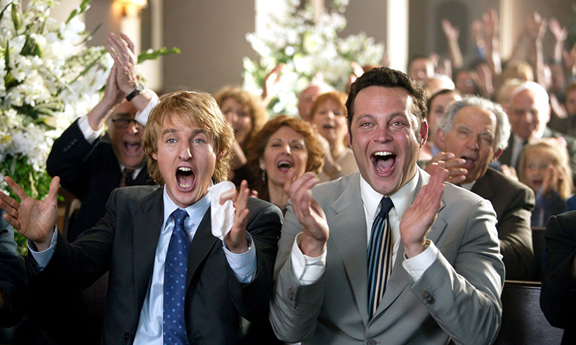 <h3>Wedding Crashers</h3>
