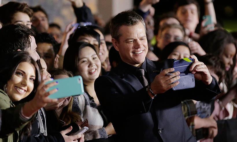 Matt Damon got back in the swing of things as Jason Bourne at the film's premiere in Sydney. 