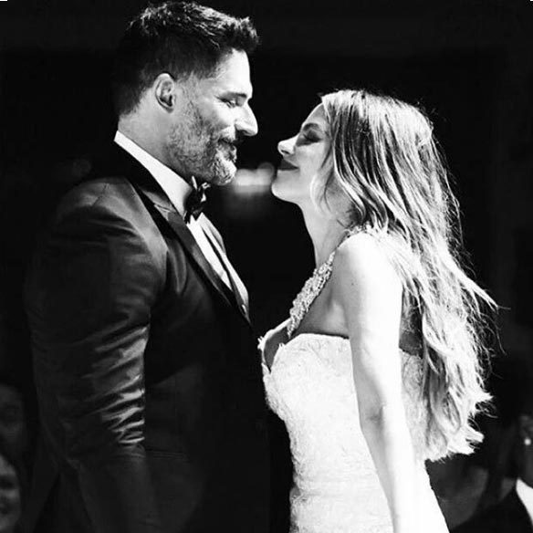 Joe Manganiello shared a wedding photo to wish Sofia a happy birthday on Instagram.