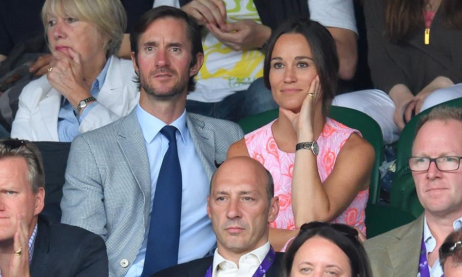 <h3>Pippa Middleton and James Matthews</h3>