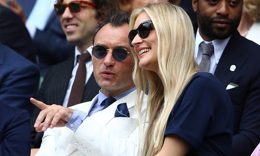 <h3>Jude Law and Phillipa Coan</h3>