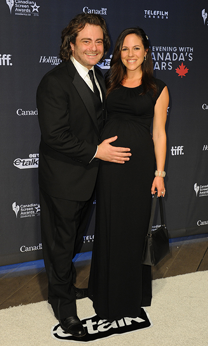 Anna and her husband Seth Cooperman. 