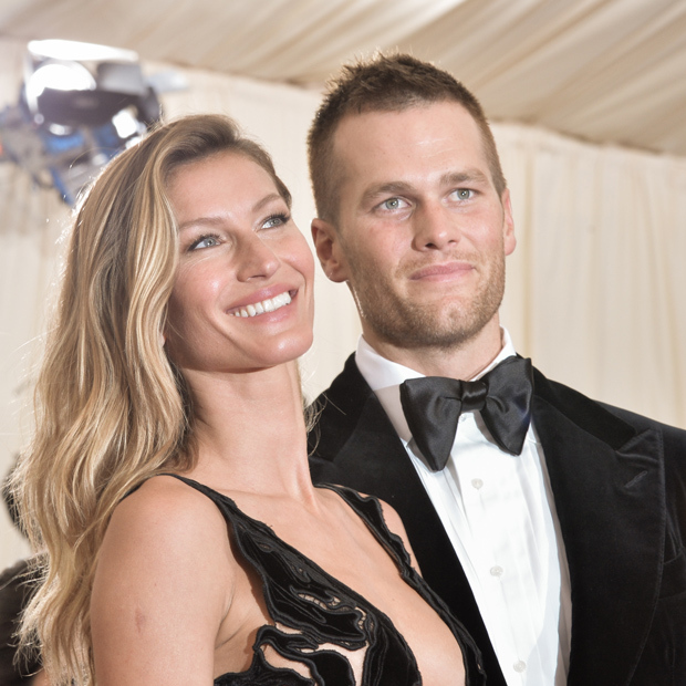 <h2>Gisele Bündchen and Tom Brady</h2> 