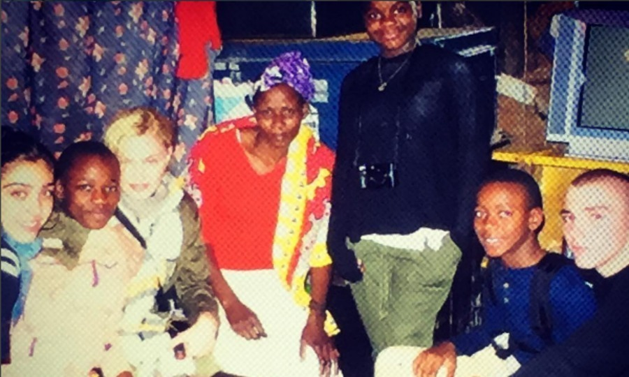 Madonna captured a humbling moment with her children and Mama Sofie.