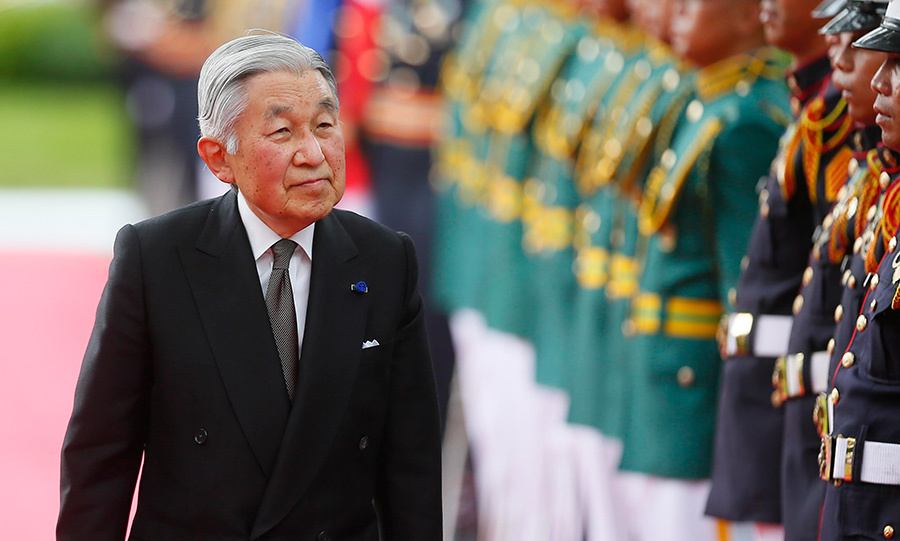 Emperor Akihito has expressed his intention to abdicate in the coming years.