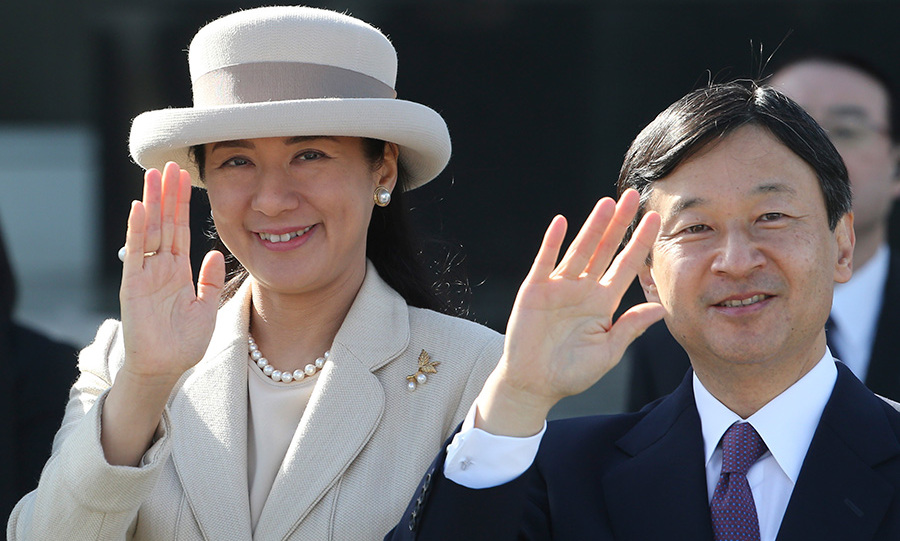 Crown Prince Naruhito will succeed his father.