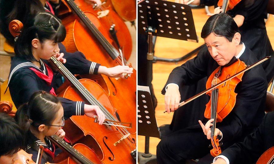 Prince Aiko and her father Prince Naruhito both took part in an orchestra concert for the alumni of Gakushuin University in 2013. During the concert, Aiko played the cello and her father tackled the viola.
