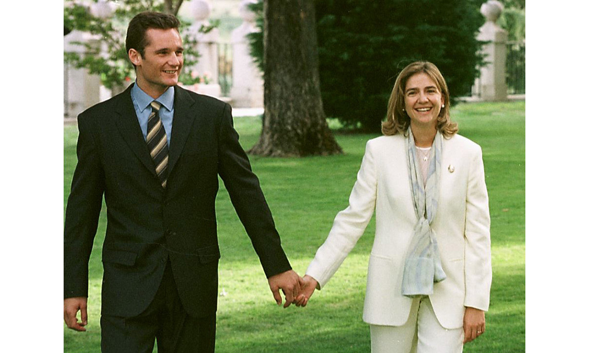 <h3>Infanta Cristina of Spain and Iñaki Urdangarin