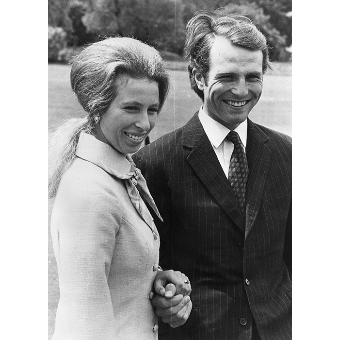 <h3>Princess Anne and Captain Mark Phillips