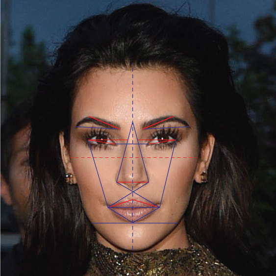 Kim Kardashian came second in the research.