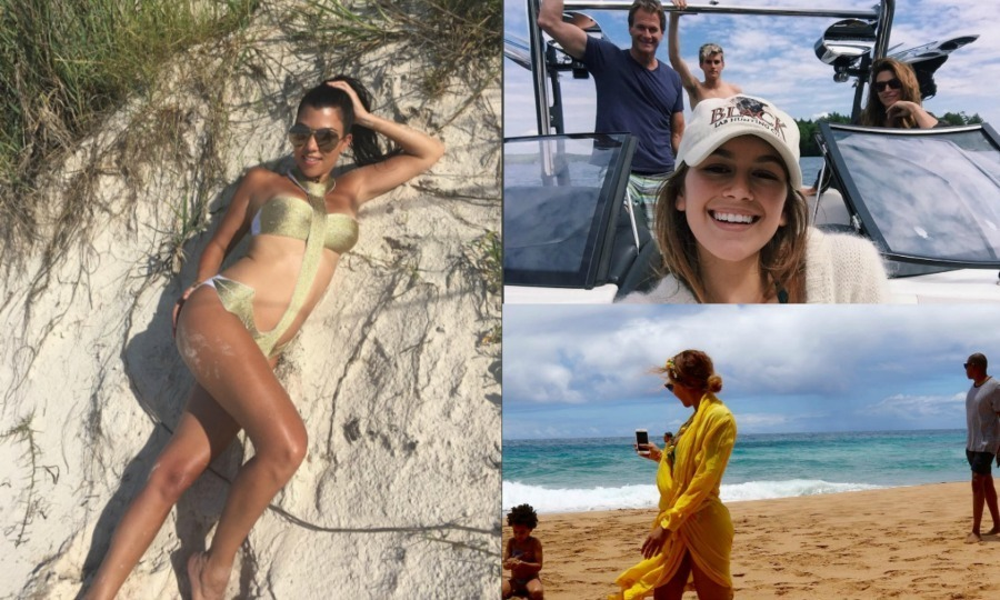 Even the stars need a little rest and relaxation! Soaking up the sun, splashing in the water or taking time out to be a tourist, the celebs are giving us total wanderlust all summer '16. Here is a look at the celebs on their summer holidays...