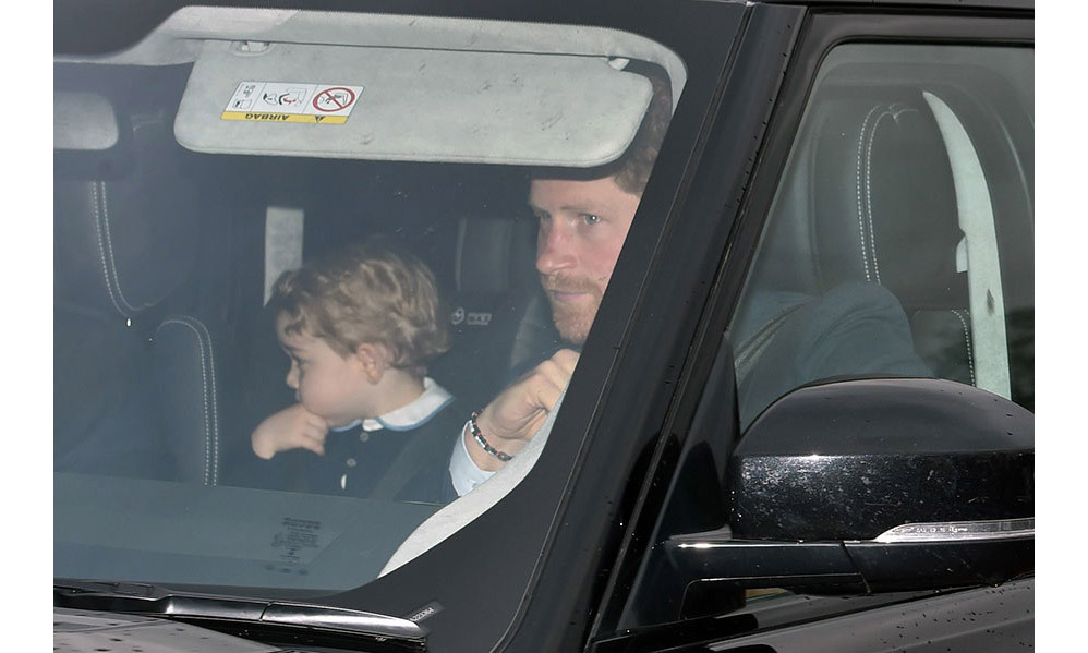 <p><strong>First Christmas at Buckingham Palace – December 2014</strong><br>