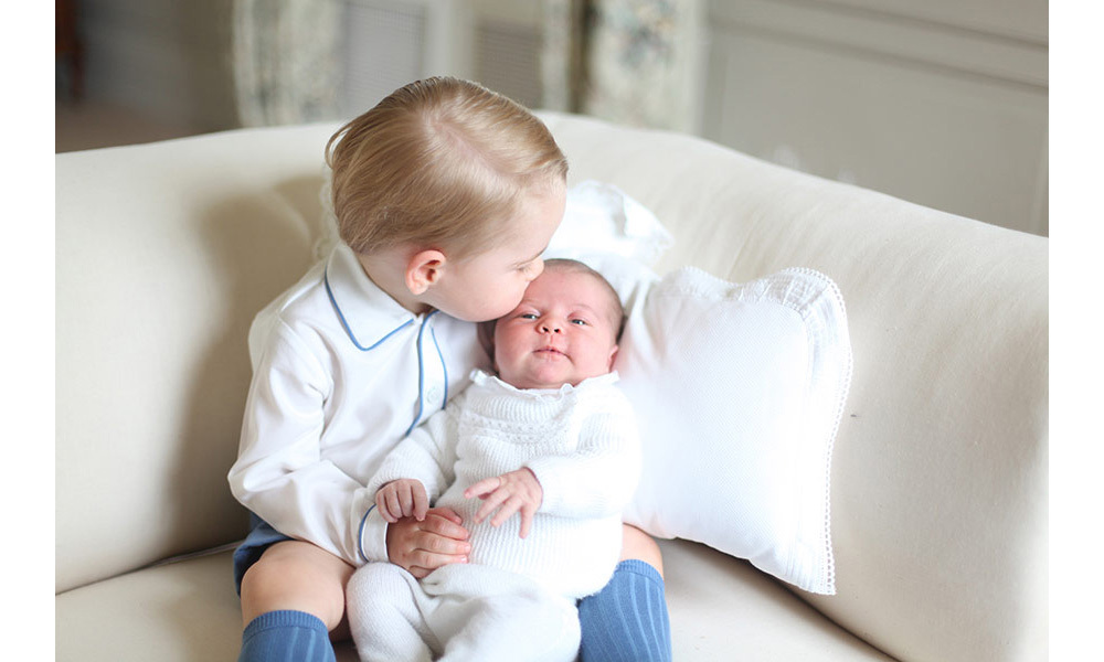 <p><strong>First portrait with Charlotte – June 2015