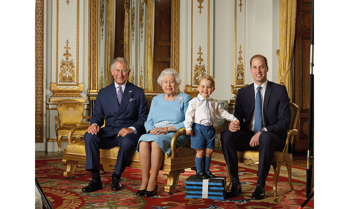 <p><strong>First stamp – April 2016</strong><br>George appeared on his first postage stamp as part of a set issued to mark Her Majesty's 90th birthday.</p>