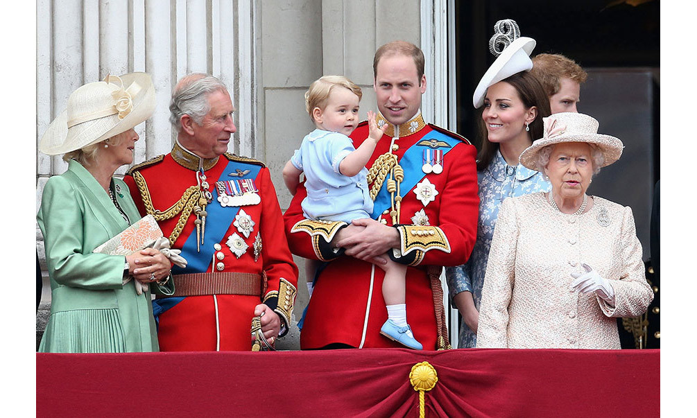 <p><strong>First Trooping the Colour – June 2015</strong><br>