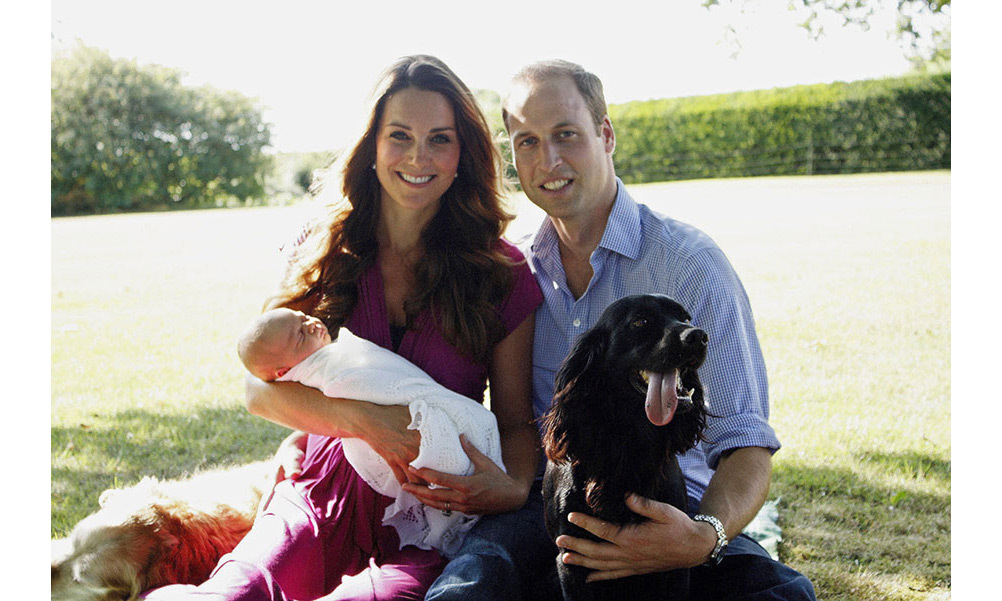 <p><strong>First official portrait – August 2013