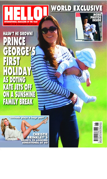 <p><strong>First holiday abroad – January 2014