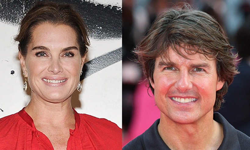 <h2>Brooke Shields and Tom Cruise</h2>