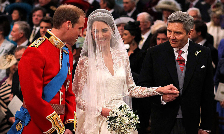 <h3>Michael Middleton will give his daughter away