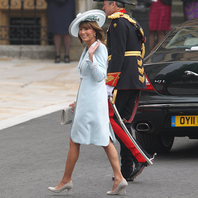 <h3>Carole Middleton will be the mother-of-the-bride