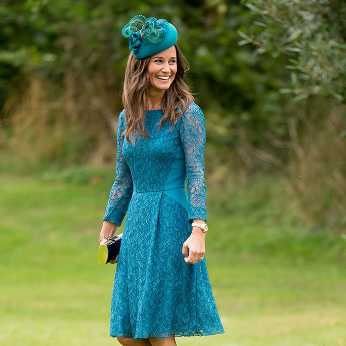<h3>Pippa's wedding dress