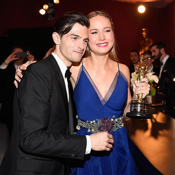 <h2>Brie Larson and Alex Greenwald</h2>