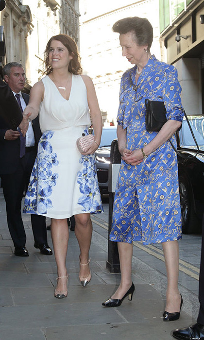 Princess Eugenie also attended the party.