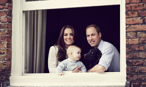 Prince George and Lupo had a magical sibling moment in this family portrait released in 2014, but it was George's personalized sweater that caused a fan frenzy. The $43 jumper from baby retailer My1stYears.com, which features the child's name across the chest, quickly became a bestseller as the brand sold more than 1200 in the days following the photo's release.