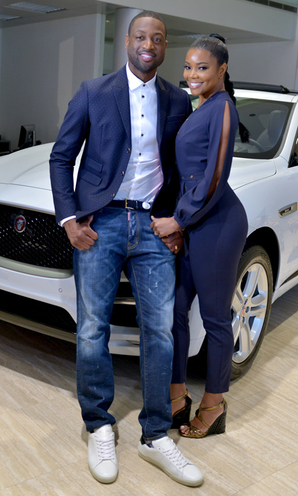<h2>Gabrielle Union and Dwyane Wade</h2>
