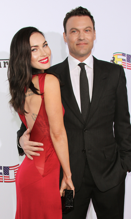 <h2>Megan Fox and Brian Austin Green </h2>