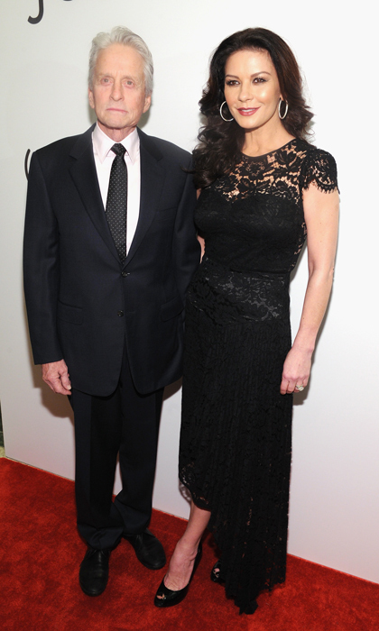 <h2>Catherine Zeta-Jones and Michael Douglas </h2>