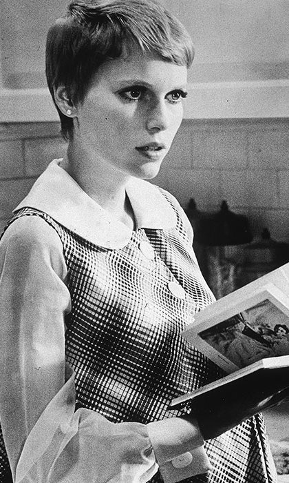 Mia Farrow had women around the world dashing to their nearest salon to recreate her stunning short pixie cut from <em><strong>Rosemary's Baby</strong></em>. 
