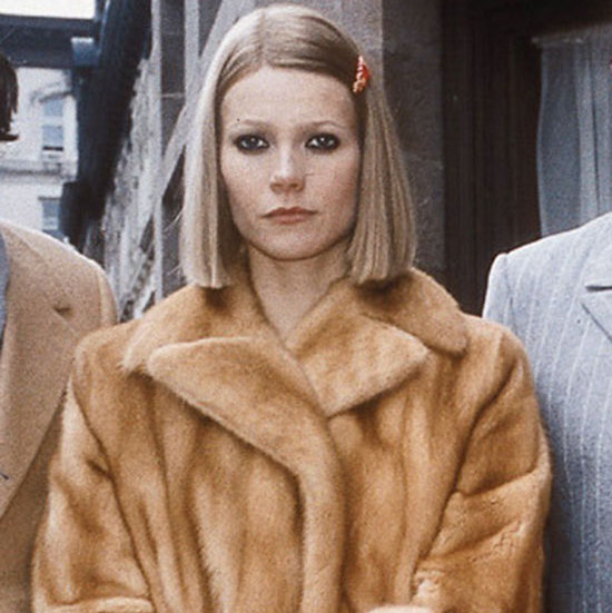 Gwyneth Paltrow's short blunt bob and statement pink hairclip in <em><strong>The Royal Tenenbaums</strong></em> was the epitome of laidback cool. 