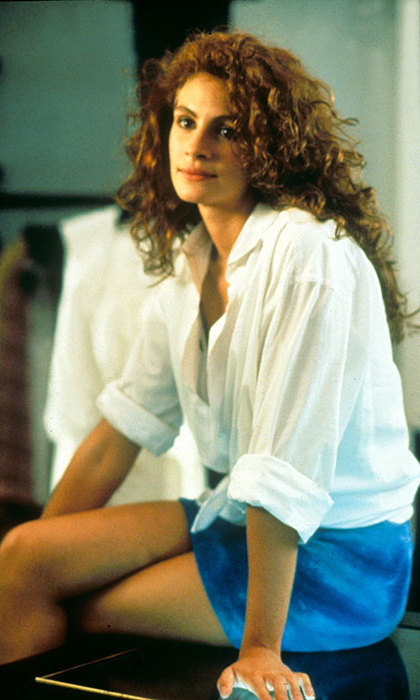 Julia Roberts firmly established herself as a beauty icon with her voluminous eye-catching red curls when she starred in <em><strong>Pretty Woman</strong></em>.