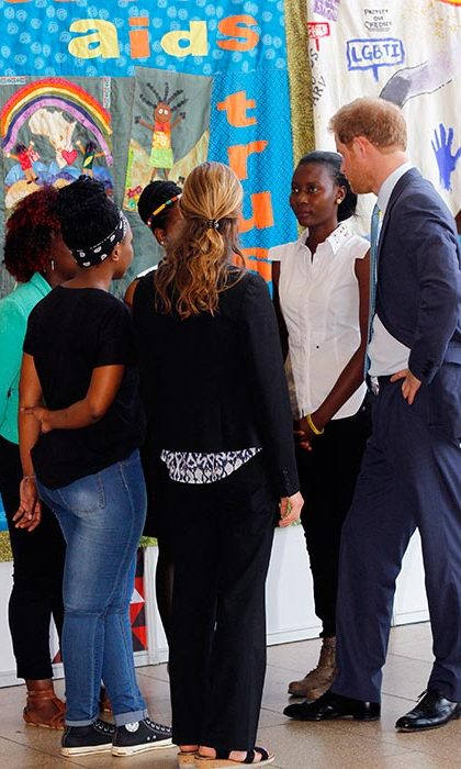 Prince Harry spoke to attendants at the International AIDS conference. 