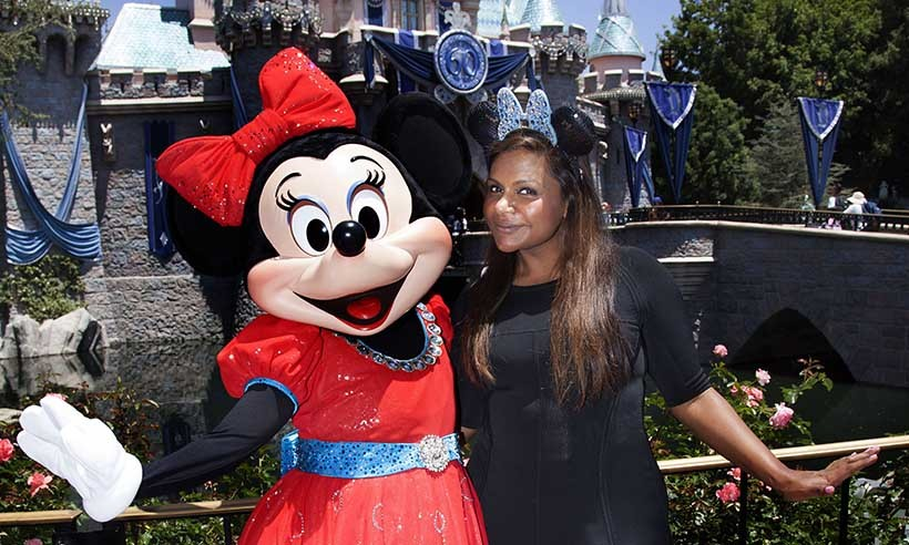 When Mindy met Minnie! Mindy Kaling hung out with the Disney superstar during her first-ever visit to Disneyland in California. 