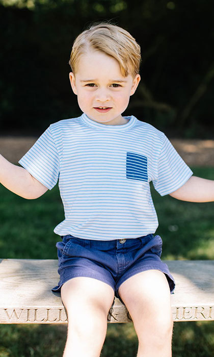 <p>Kensington Palace released four new portraits of Prince George in celebration of the little boy's third birthday in July 2016.